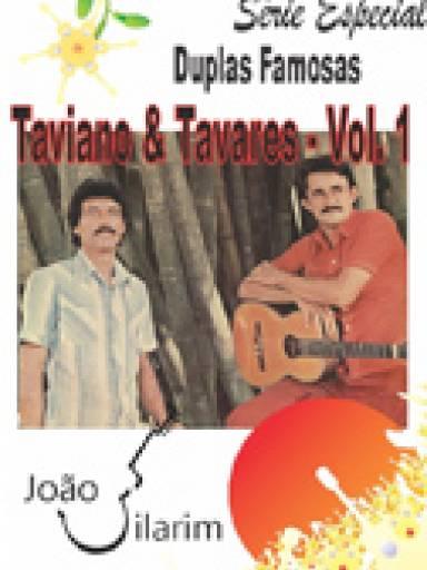 Série Duplas Famosas - Taviano e Tavares - Volume 01 - Com CD de áudio