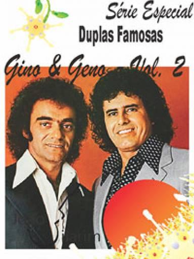 Série Duplas Famosas - Gino e Geno - Volume 02 - Com CD de áudio